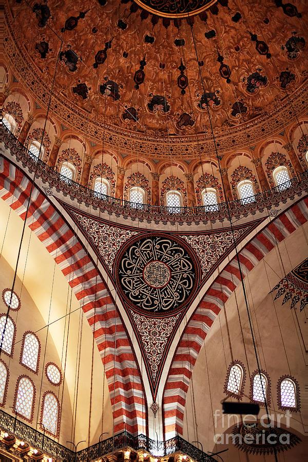 Suleymaniye Interior Photograph
