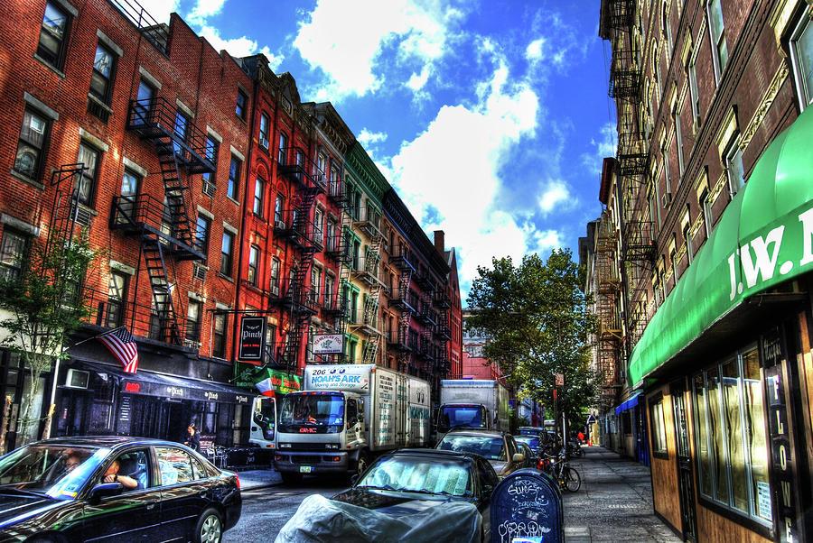 Sullivan Street In Greenwich Village Photograph