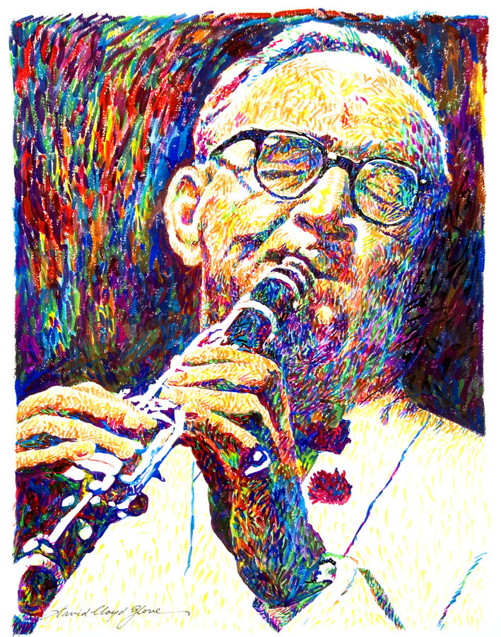 Sultan Of Swing - Benny Goodman Painting  - Sultan Of Swing - Benny Goodman Fine Art Print