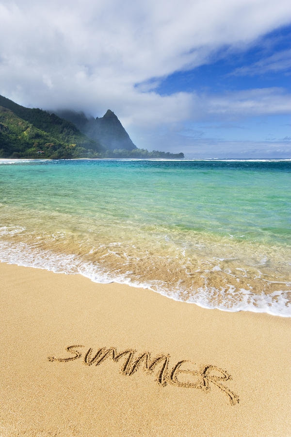 Summer - Haena Beach Photograph  - Summer - Haena Beach Fine Art Print