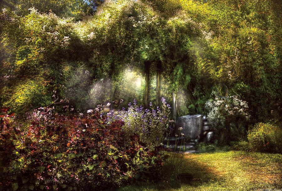 Summer - Landscape - Eves Garden Photograph