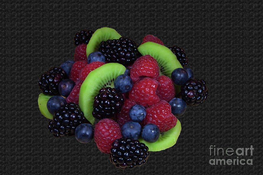 Fruit Photograph - Summer Fruit Medley by Michael Waters