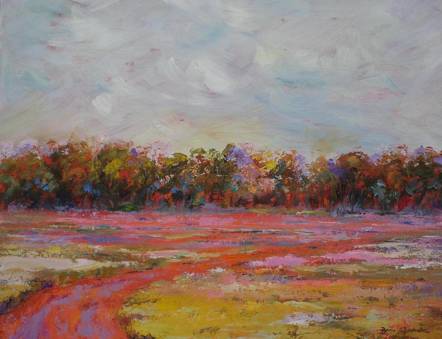 Summer Heat Painting By Bonnie Goedecke