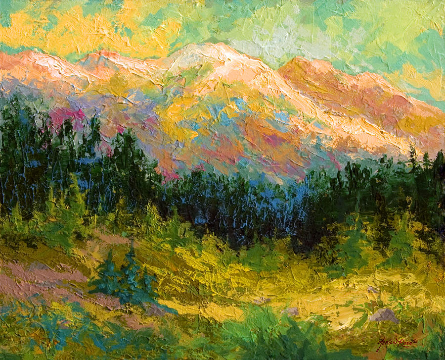 Summer High Country Painting