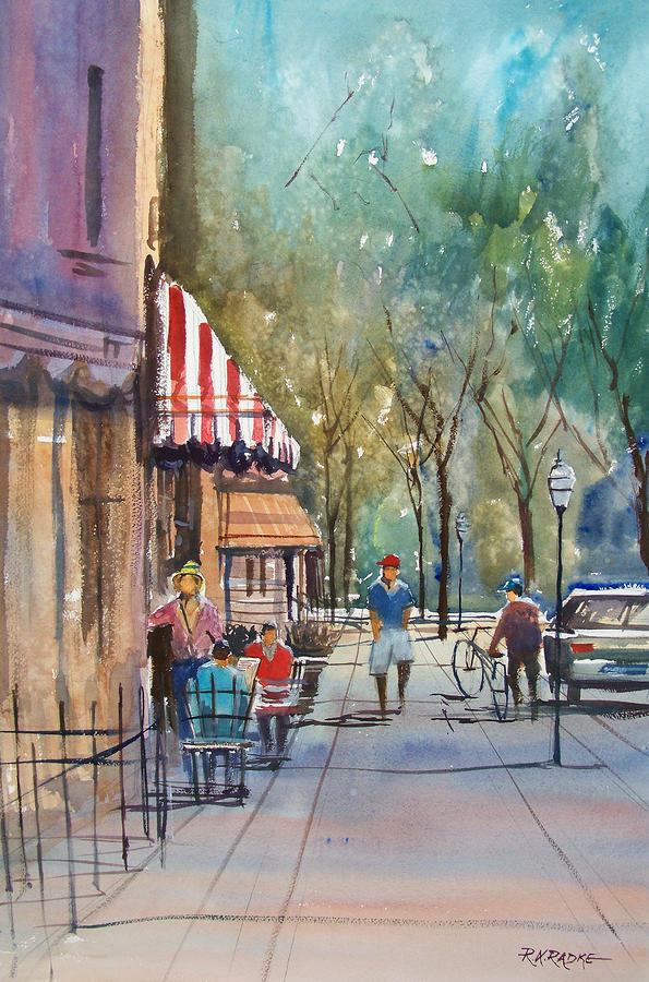 Summer In Cedarburg Painting