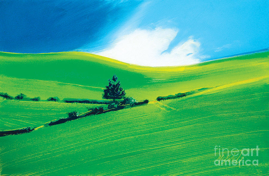 Summer Painting  - Summer Fine Art Print