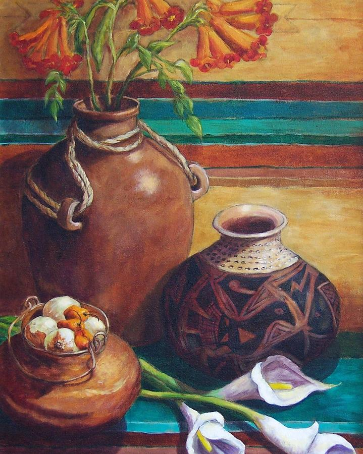 Summer Still Life Painting  - Summer Still Life Fine Art Print