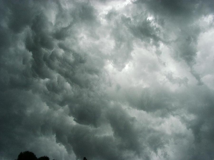 Photo Storm Clouds Photograph - Summer Storm Clouds by Marian Hebert