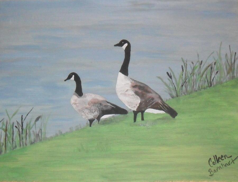 Summer Stroll Painting