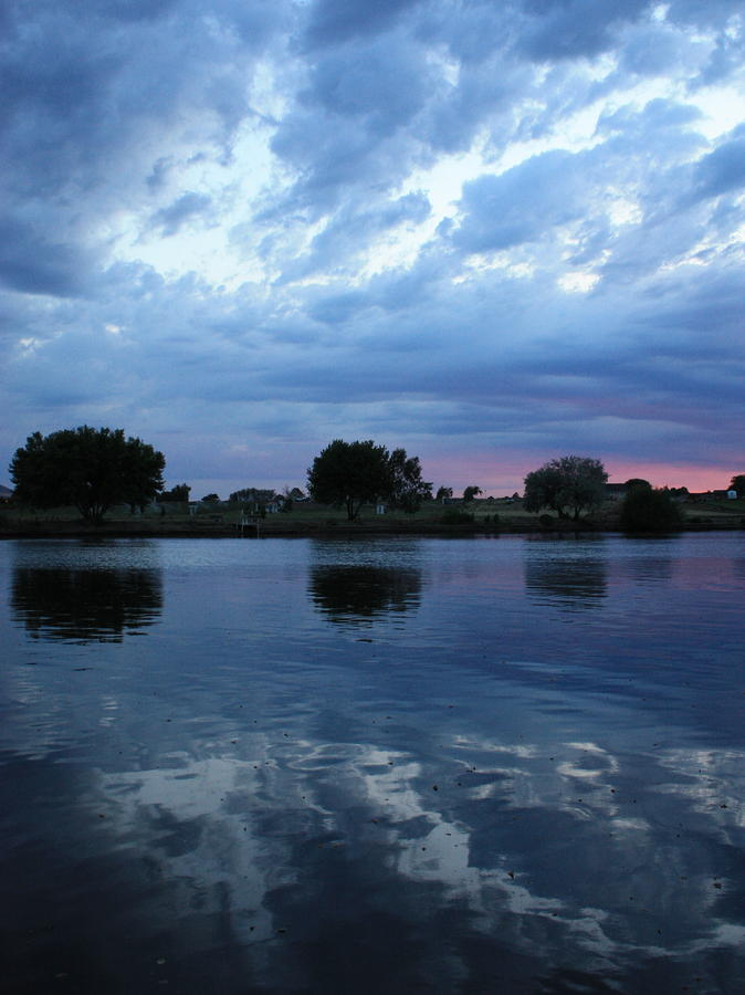 Summer Sunset On Yakima River 5 Photograph