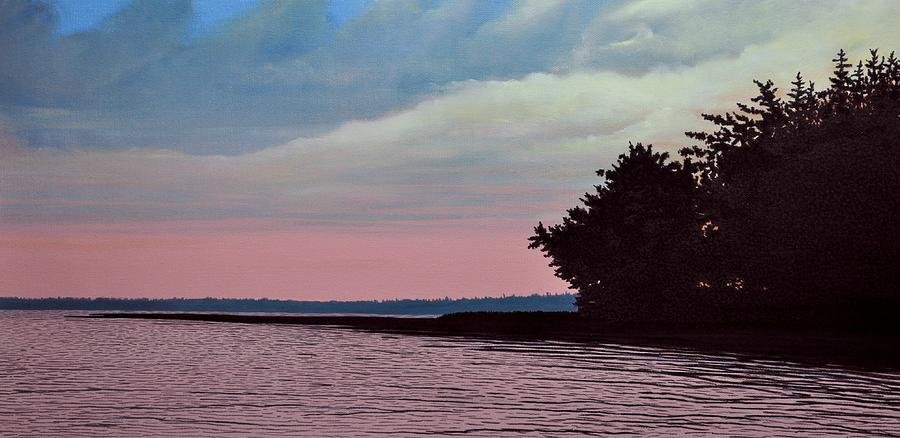 Summers Eve Painting  - Summers Eve Fine Art Print