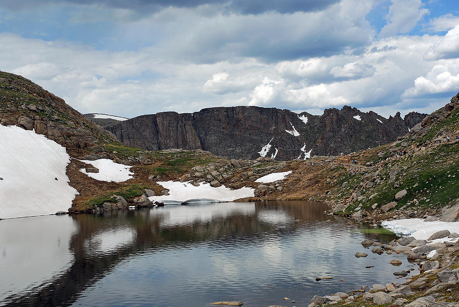 Summit Lake In Summer Photograph  - Summit Lake In Summer Fine Art Print
