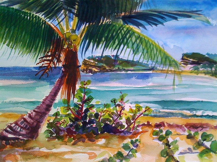 Sun Bay Vieques Puerto Rico Painting