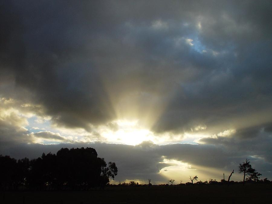 Sun Beams Photograph