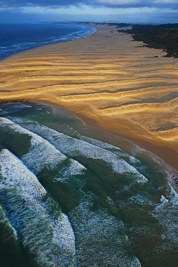 Sun Rise Coast  Photograph