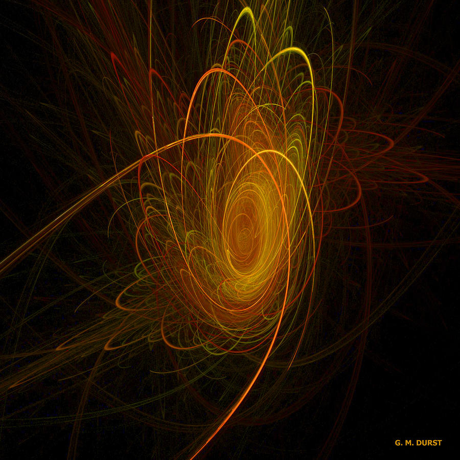 Sunburst Digital Art  - Sunburst Fine Art Print