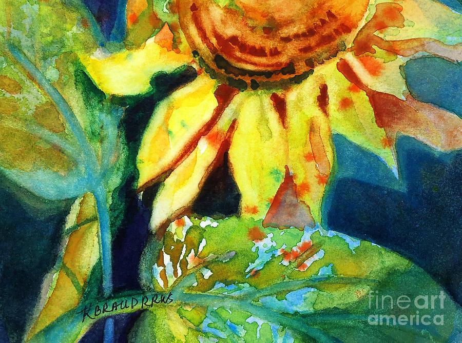Sunflower Head 4 Painting