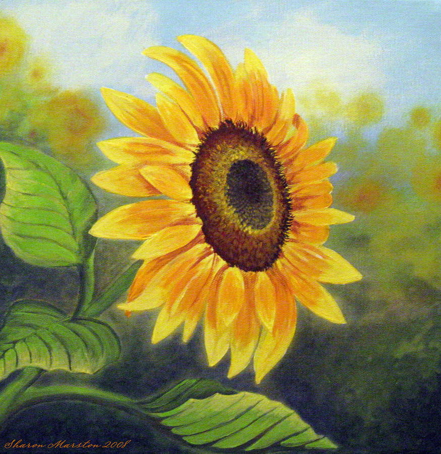 Sunflower Paintings For Sale