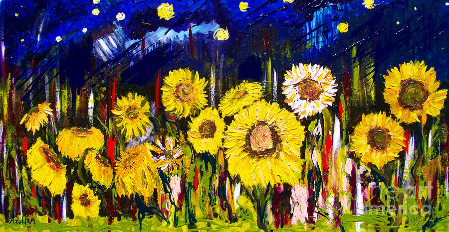 Sunflowers Painting
