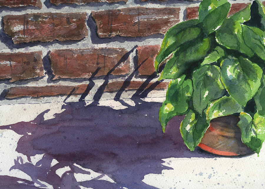 Sunlight And Shadows Painting