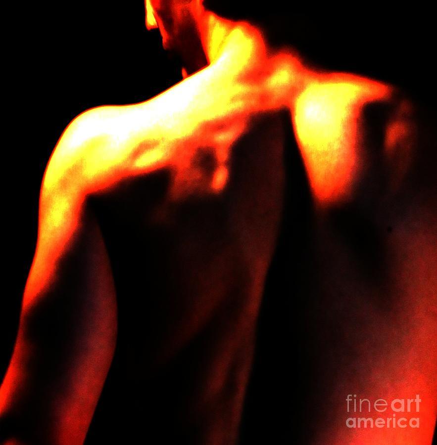 Shoulder Photograph - Sunlit Shoulder by Robert D McBain