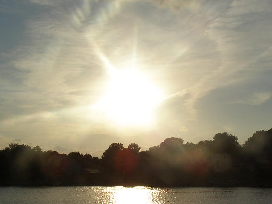 Landscape Photograph - Sunny Beams by Brityn Klehr