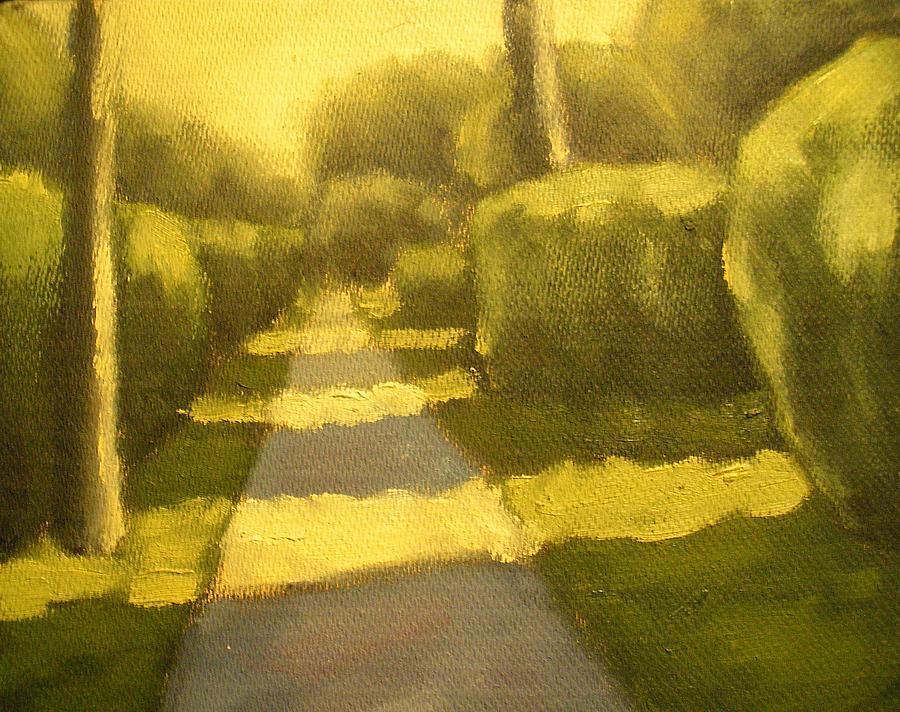 Sunny Sidewalk Painting