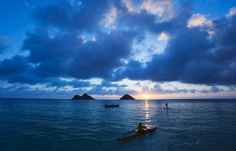 Sunrise At Lanikai Photograph