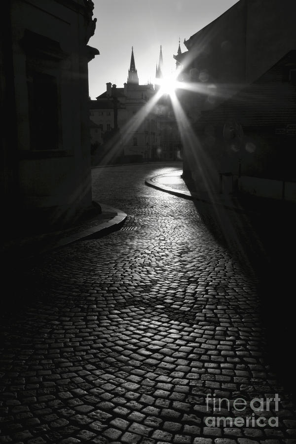 Sunrise At Prague Photograph  - Sunrise At Prague Fine Art Print