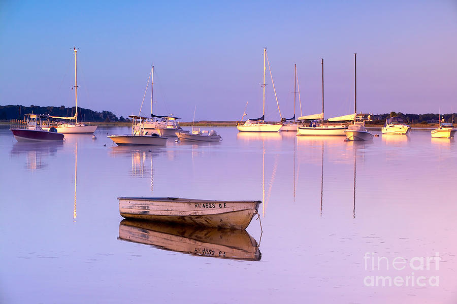 Sunrise At West Bay Osterville Cape Cod Photograph