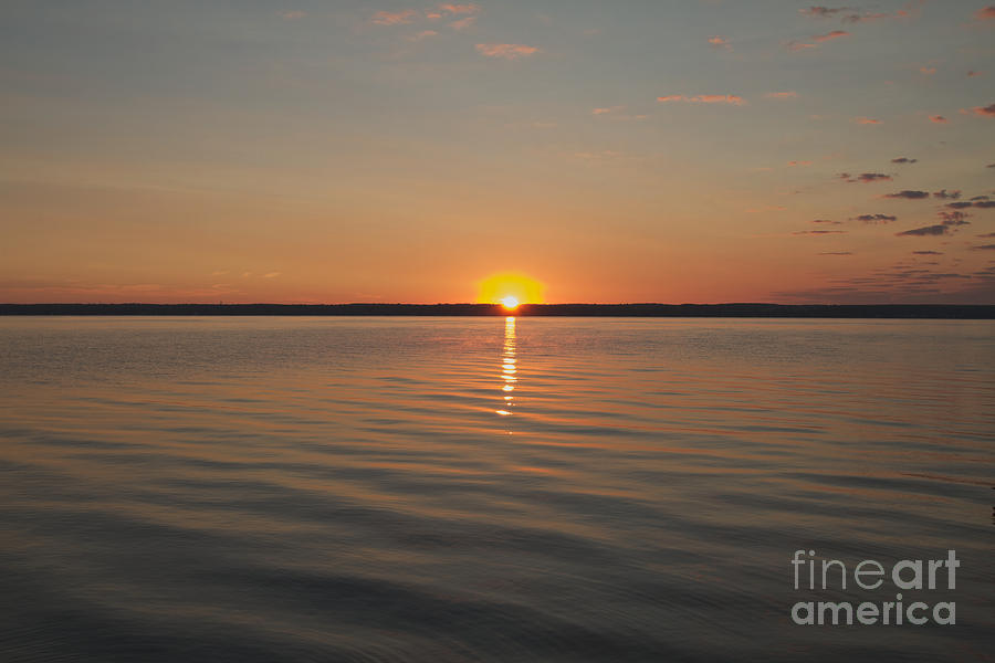 Sunrise On Seneca Lake Photograph  - Sunrise On Seneca Lake Fine Art Print