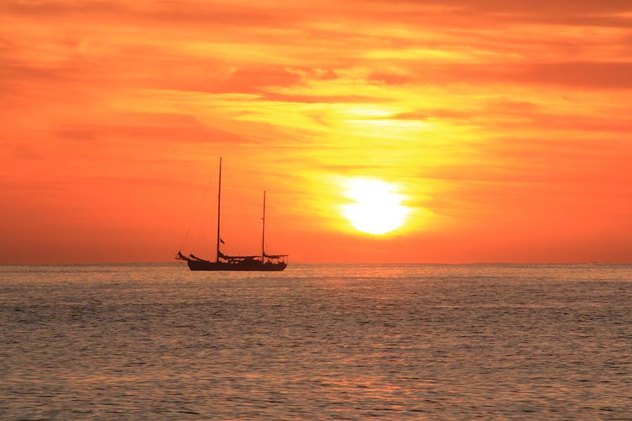 Sunrise On The Sea Of Cortez Photograph