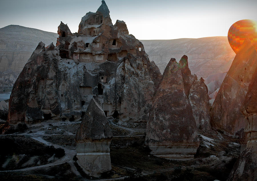 Sunrise Over Cappadocia Photograph