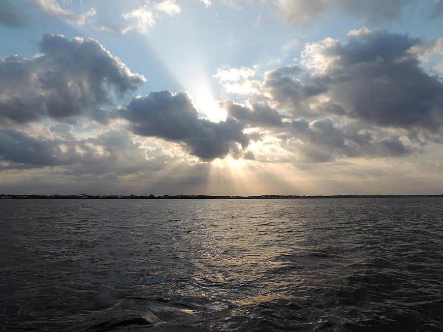 Sunrise Over Keaton Beach Photograph