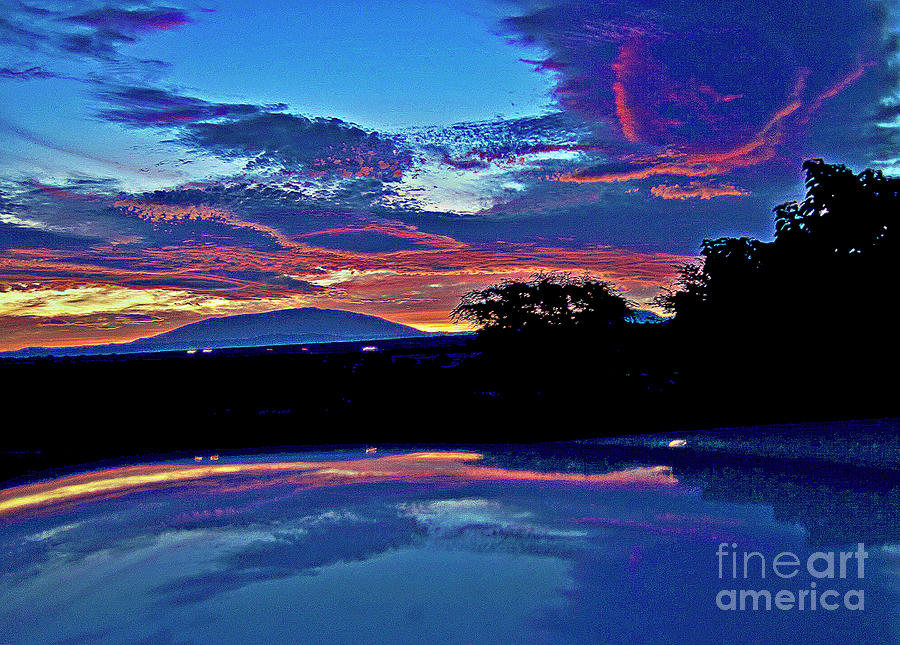Sunrise Over Mauna Kea Photograph  - Sunrise Over Mauna Kea Fine Art Print