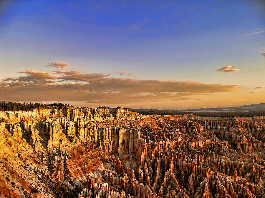 Sunrise Over The Hoodoos Photograph