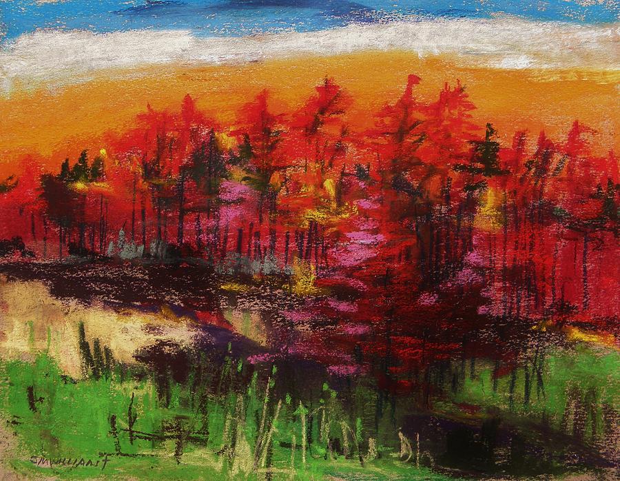 Sunrise Pastel John Williams Painting