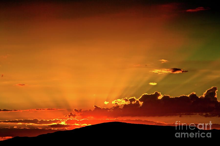 Sunrise Prescott Arizona Photograph  - Sunrise Prescott Arizona Fine Art Print