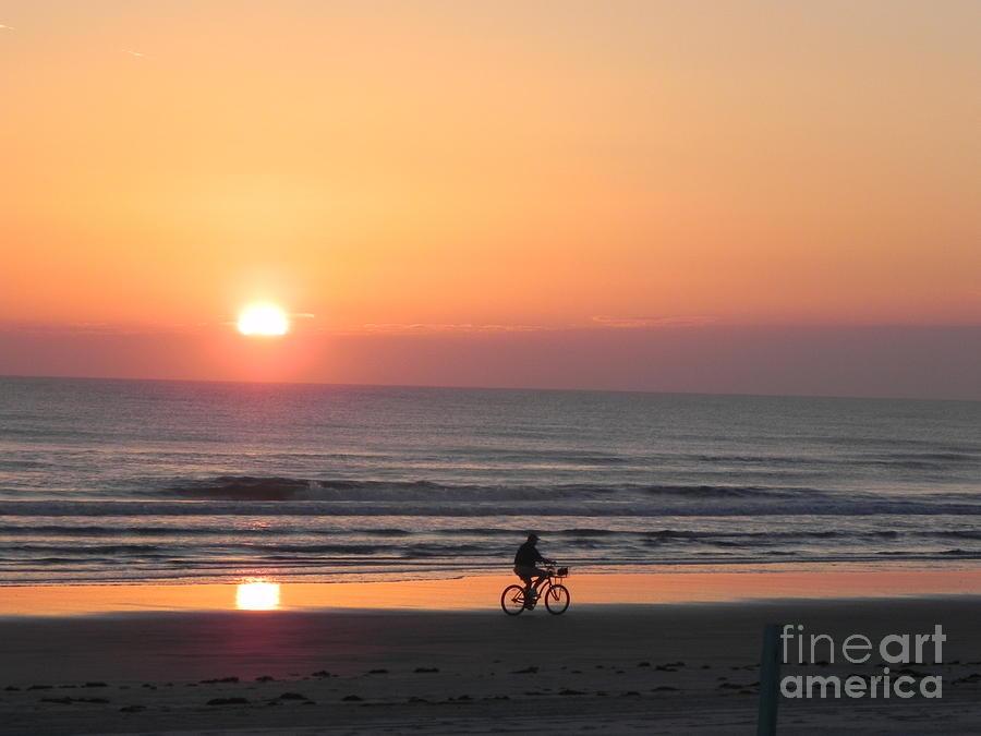 Sunrise Reflection Photograph