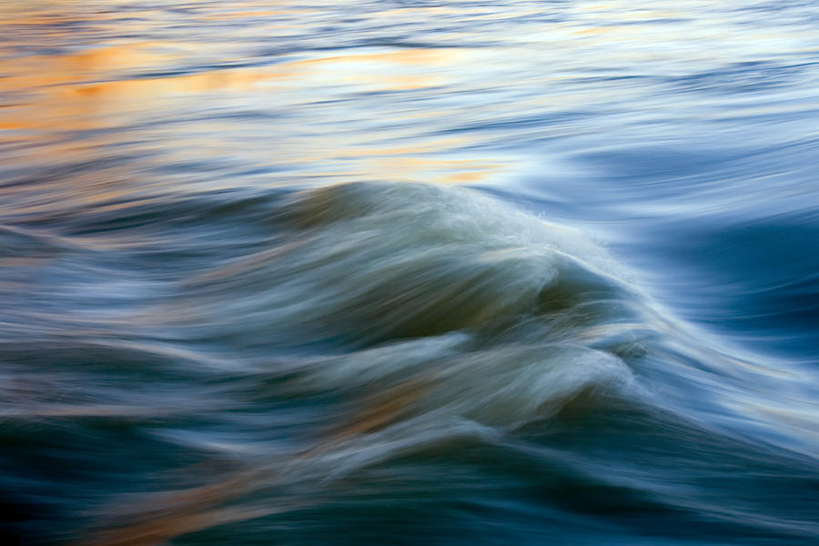 Sunrise Ripple Photograph  - Sunrise Ripple Fine Art Print