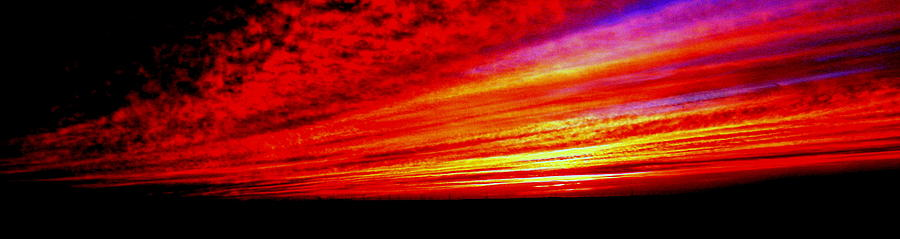 Sunset Ablaze Photograph  - Sunset Ablaze Fine Art Print