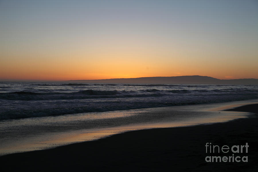 Sunset Beach California Photograph