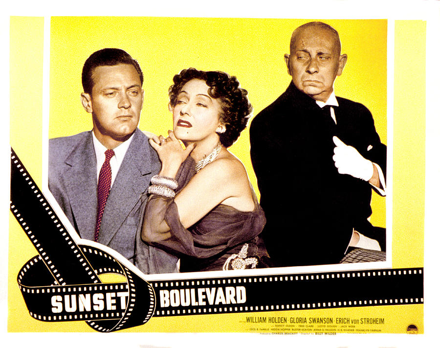 Sunset Boulevard, William Holden Photograph  - Sunset Boulevard, William Holden Fine Art Print