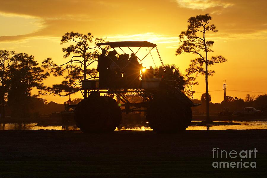 Sunset Buggy Photograph