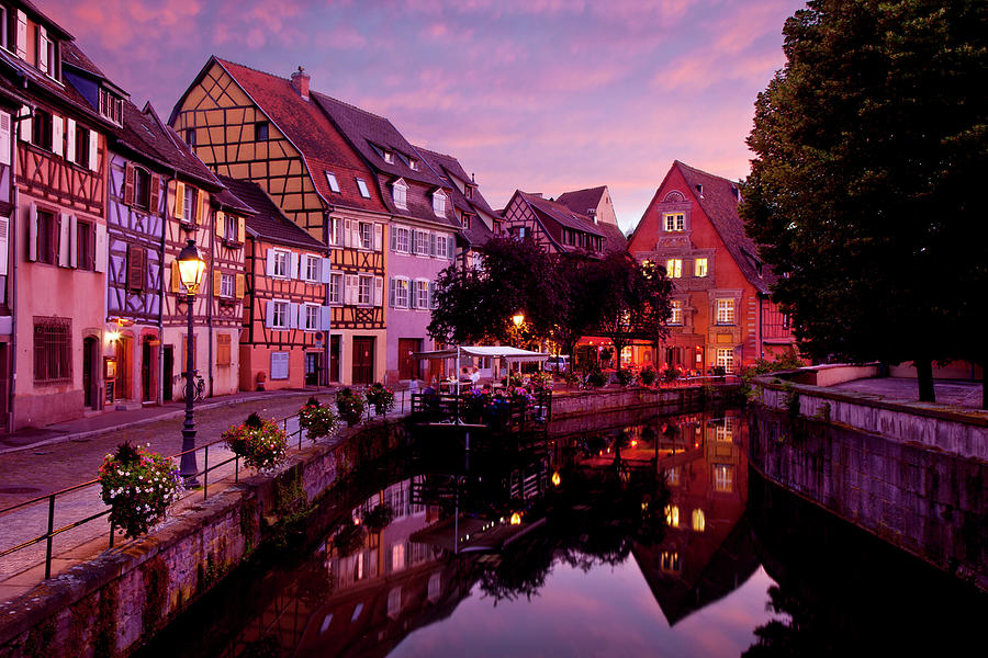 Sunset In Colmar Photograph