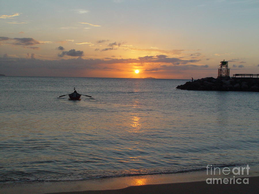 Sunset In Puerto Rico Photograph