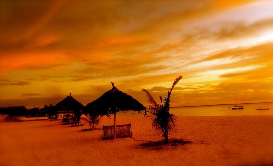 Sunset In Zanzibar Photograph