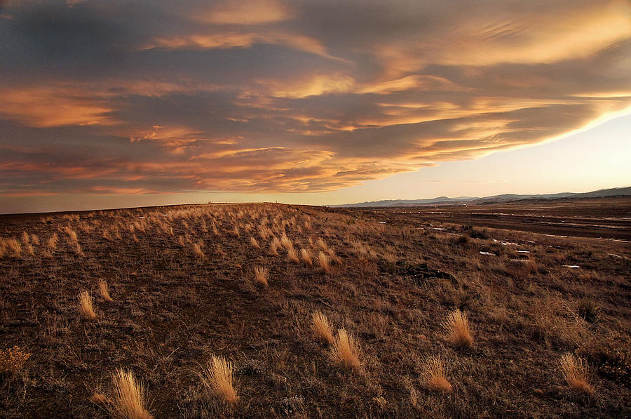 Sunset On The Ridge Photograph