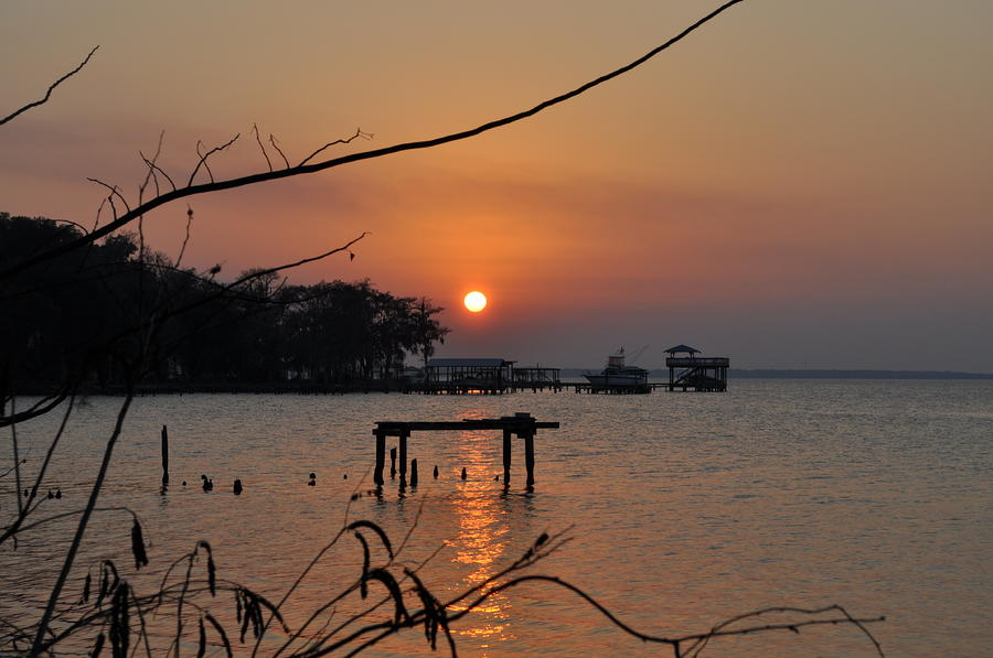 Sunset On The St. Johns River Photograph