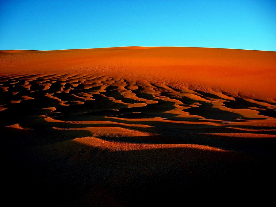 Sunset On The Ubari Sand Sea Photograph